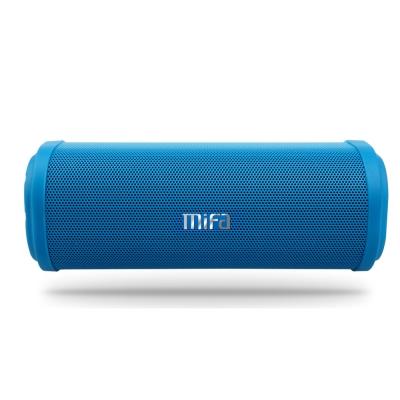 MiFa F5 戶外防潑水隨身藍牙MP3喇叭-天藍