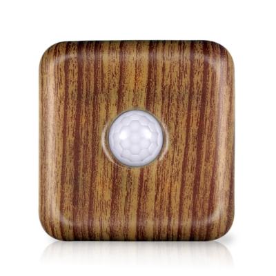 安全家智能夜視燈-夜燈/警示燈/跟車燈(木紋)