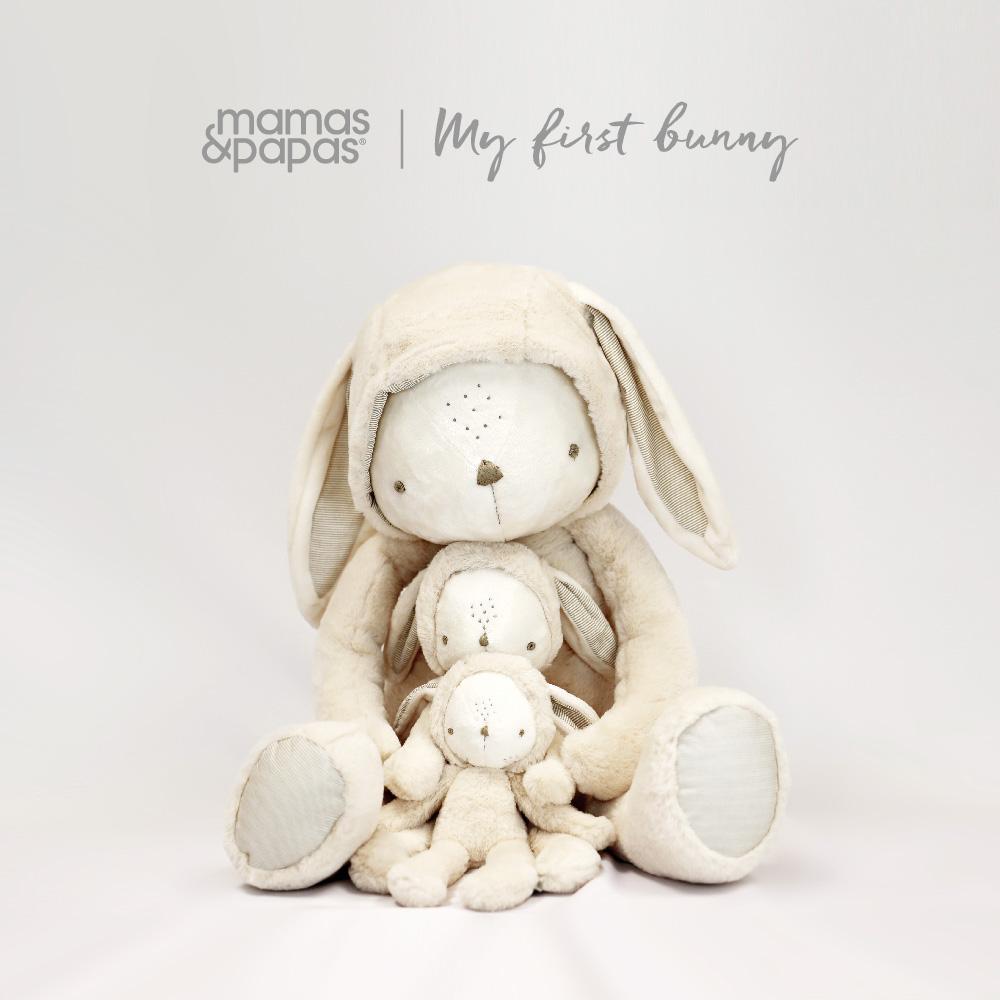 【Mamas & Papas】勤勞兔-玩偶-中