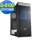 微星B360平台[武風劍士]i3四核GTX1060獨顯SSD電玩機