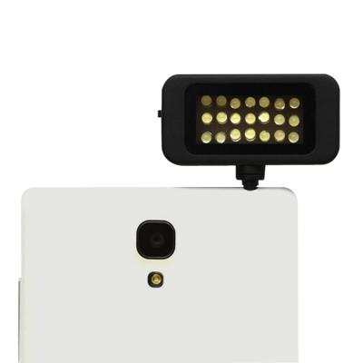 手機平板專用21顆LED補光燈攝影燈