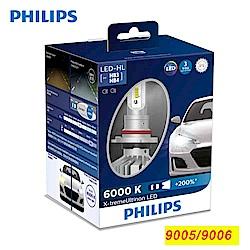 PHILIPS 飛利浦超晶亮LED 9005/9006 頭燈兩入裝(公司貨)