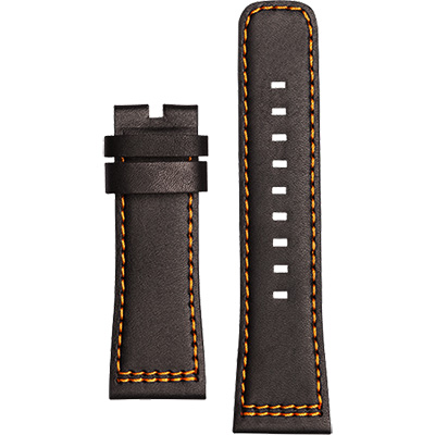 SEVENFRIDAY P1-3 原廠牛皮錶帶-黑