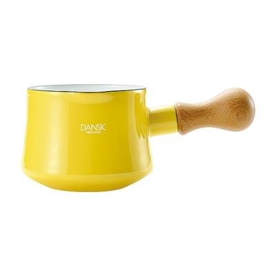 DANSK 迷你造型琺瑯鍋(限定色●黃色)