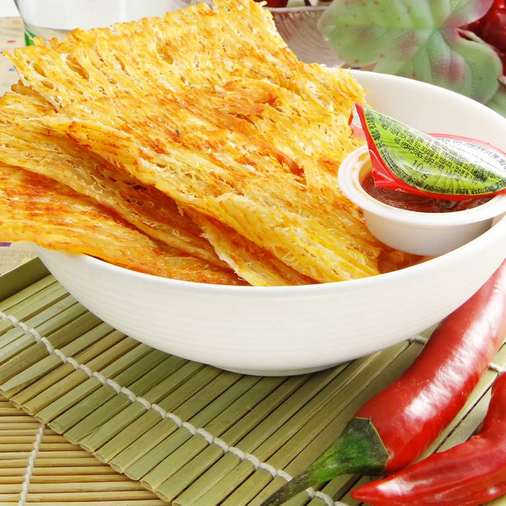 韓太 韓式極品辣烤魷魚乾(35g)(附韓式辣沾醬)