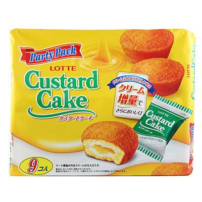 Lotte樂天 Custard蛋糕(247.5g)
