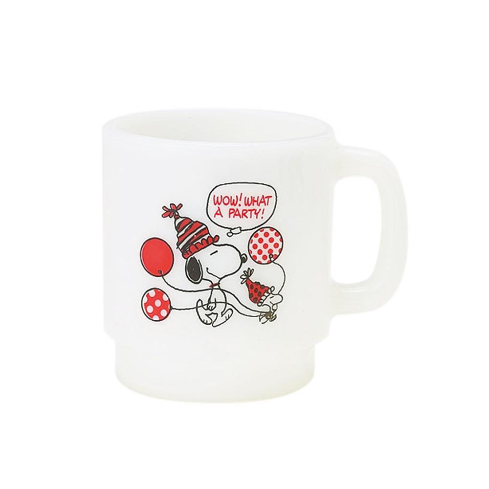 《Sanrio》SNOOPY塑膠馬克杯(氣球)