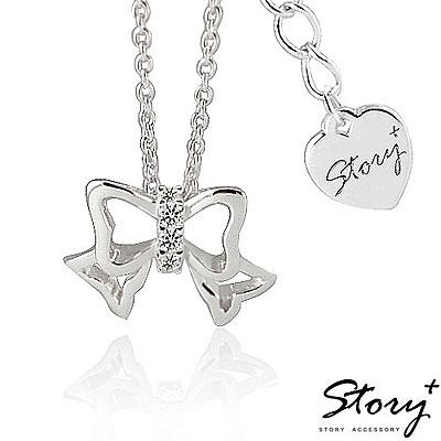 STORY故事銀飾-浪漫小物系列 - 甜美情節 925純銀項鍊