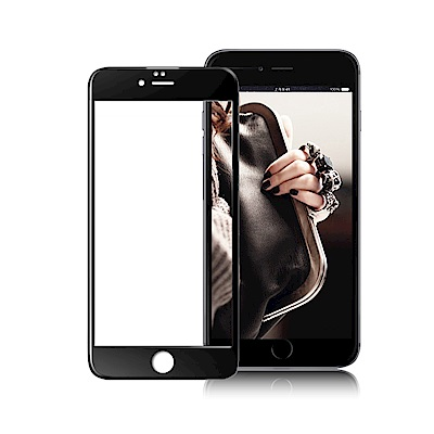 XM iPhone 6 plus/ 6s plus 鋼鐵滿版3D玻璃保護貼