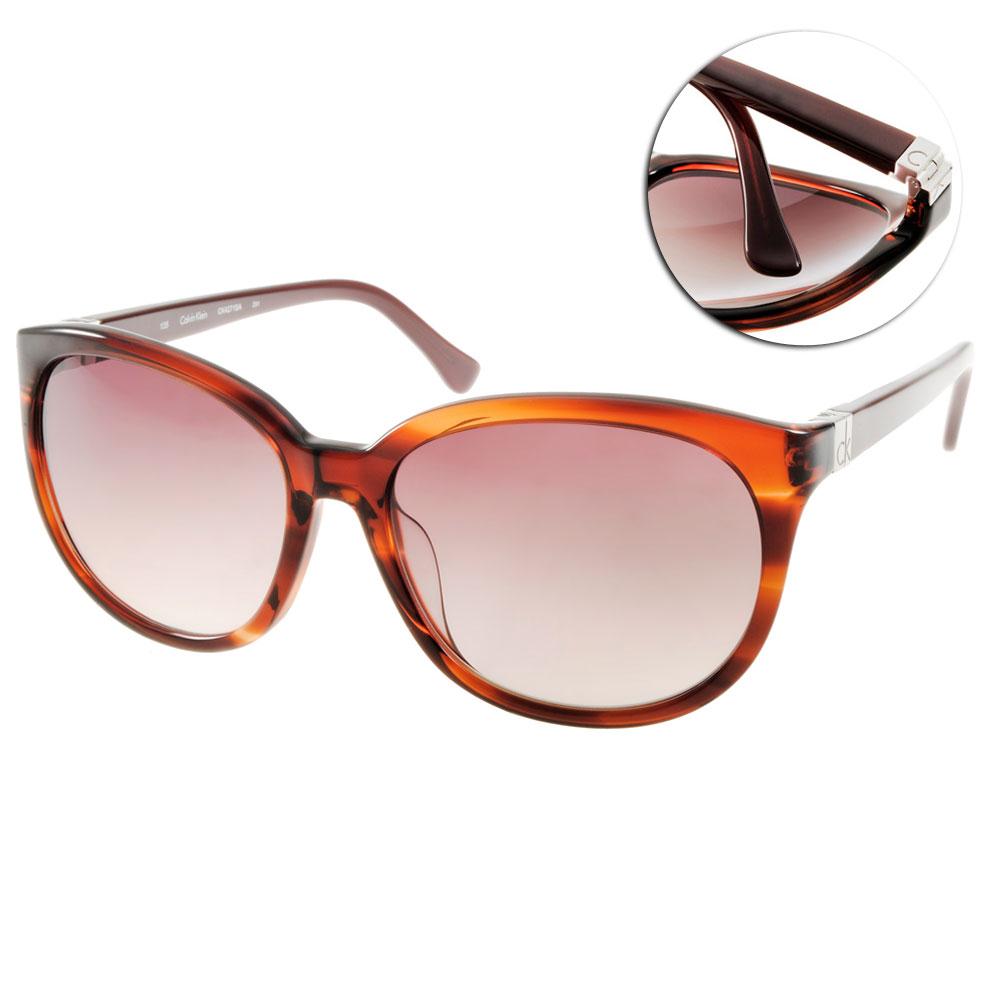 Calvin Klein太陽眼鏡 美式貓眼/棕#CK4271SA 291
