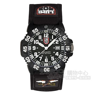 Luminox 海豹部隊快攻系列經典腕錶-黑/44mm
