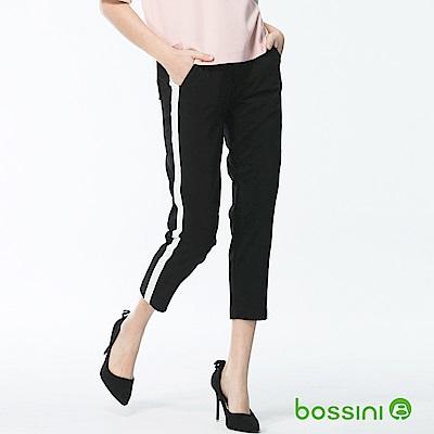 bossini女裝-彈力修身褲06黑