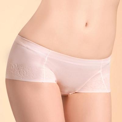 曼黛瑪璉-超低腰平口內褲(淡粉)