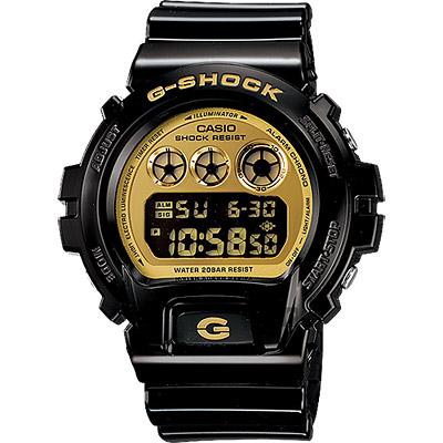 CASIO卡西歐G-SHOCK黑金坦克腕錶53mm