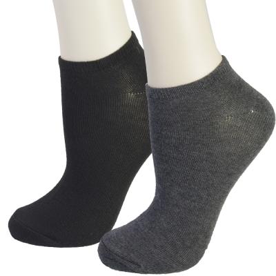純色透氣舒適襪6雙