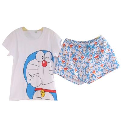 魔法Baby哆啦A夢女童短袖套裝 k41590