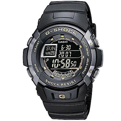 G-SHOCK 特殊摩托車運動腕錶-黑面