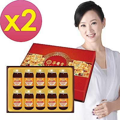 華齊堂 元氣雙蔘雞精禮盒(60mlx10瓶)2盒