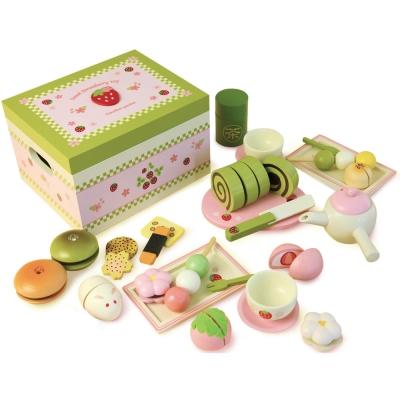 日本Mother Garden 野草莓日式抹茶點心盒