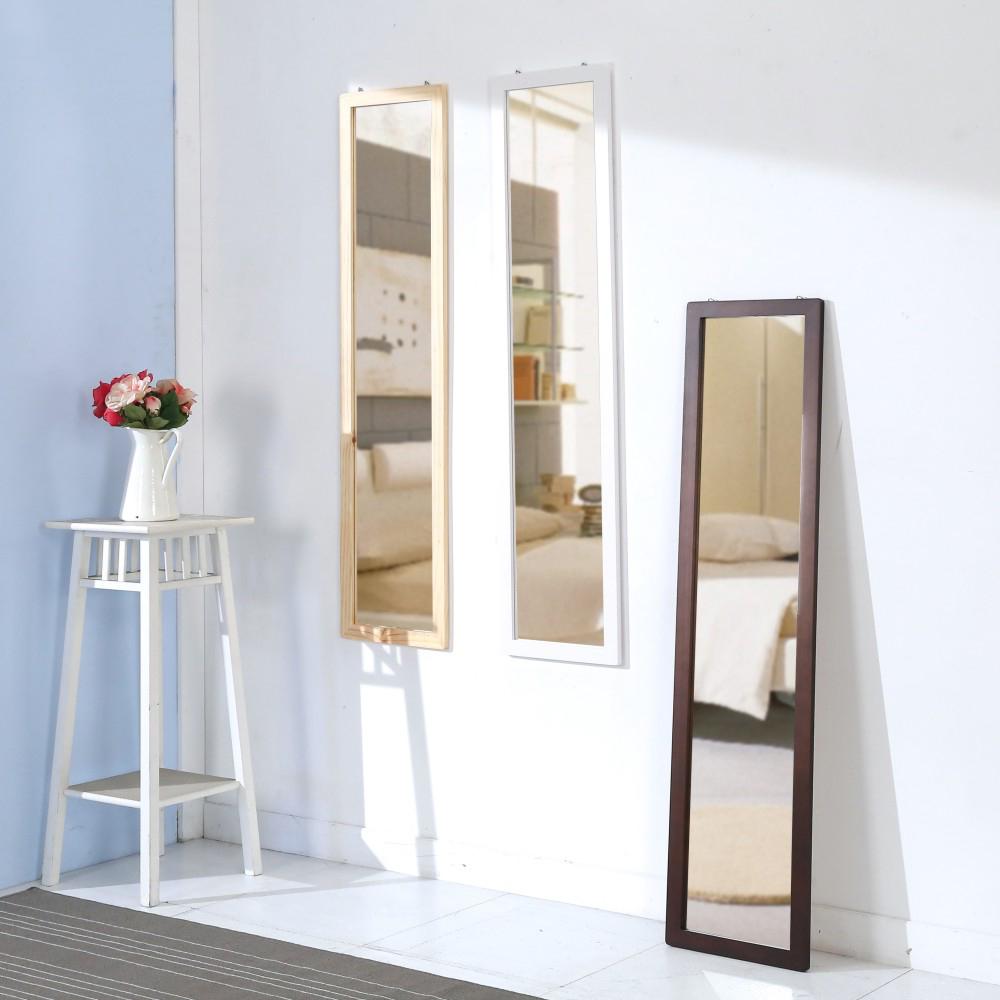 BuyJM實木長型壁鏡/立鏡30X122公分-免組