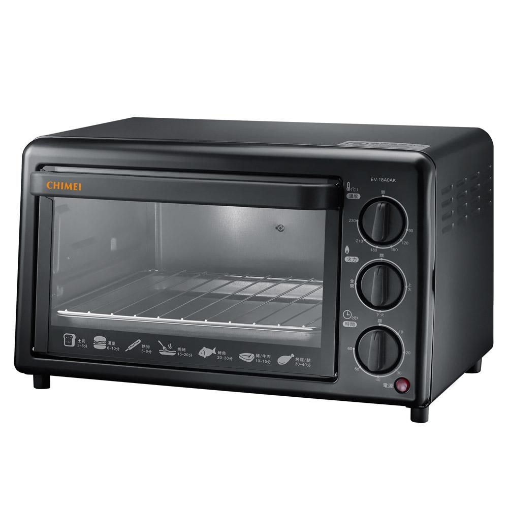 CHIMEI奇美 18公升機械式電烤箱(EV-18A0AK)