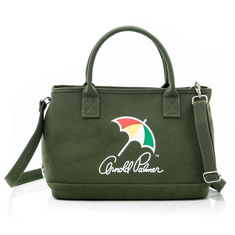 Arnold Palmer- 2WAY手提包 Canvas 玩色時尚系列-綠色