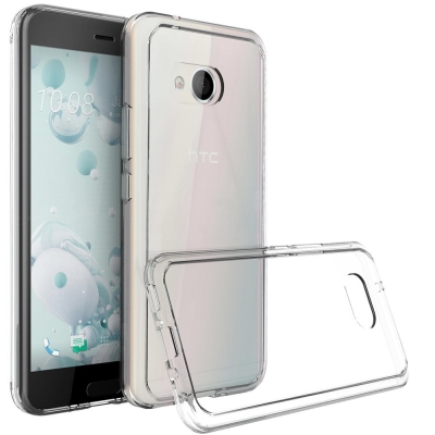 透明殼專家HTC U11 PC+TPU雙材質全包覆防摔殼