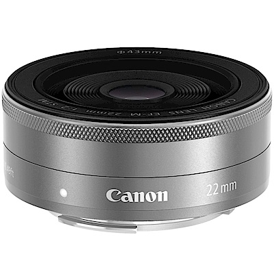 Canon EF-M 22mm F2.0 STM 定焦鏡頭 平輸 (銀)