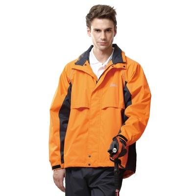 達新 T-CORE WF 防水透濕風雨衣-RL10橘(不含褲子)
