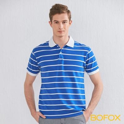 BOFOX 海軍風條紋POLO衫