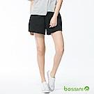 bossini女裝-素色輕便褲裙01黑