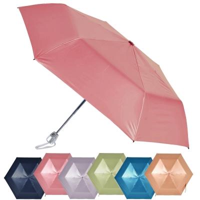 2mm 第二代 100%遮光降溫 黑膠自動開收傘 (超值2入組)