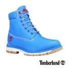 Timberland 七武士系列男款藍色六吋帆布靴