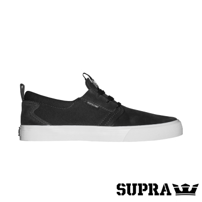 SUPRA FLOW系列男鞋-黑/白