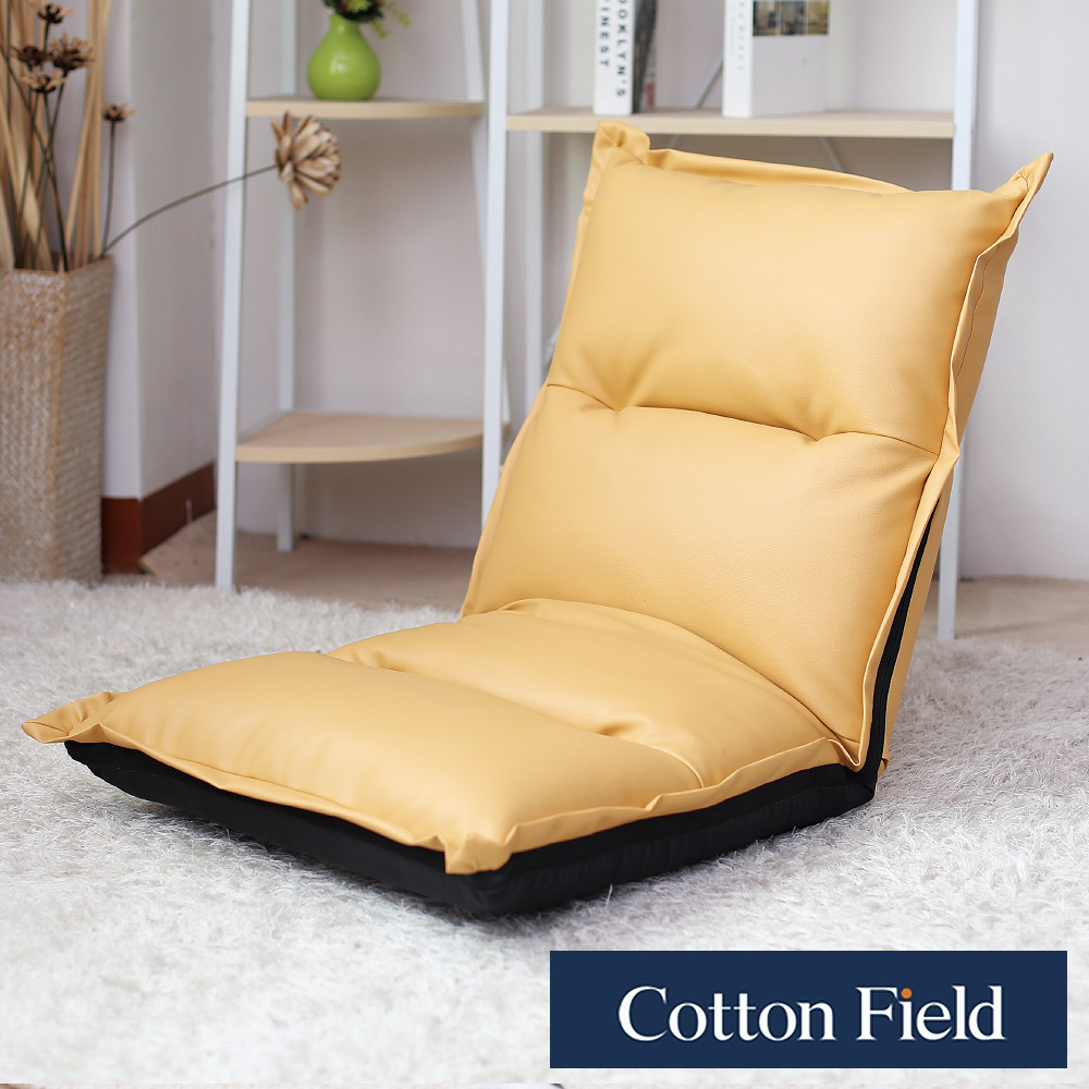 棉花田 雅緻 多段式折疊和室椅-褐