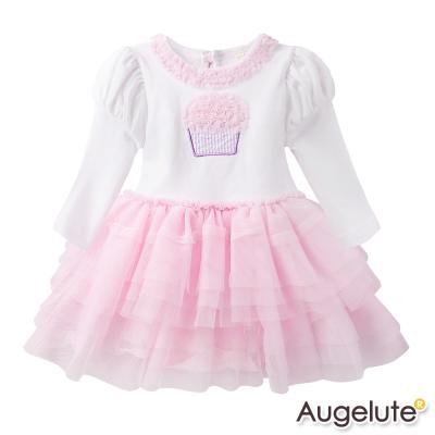 baby童衣包屁裙立體蛋糕蕾絲滾邊蛋糕紗裙47091