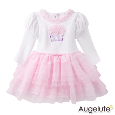 baby童衣 包屁裙 立體蛋糕蕾絲滾邊蛋糕紗裙 47091