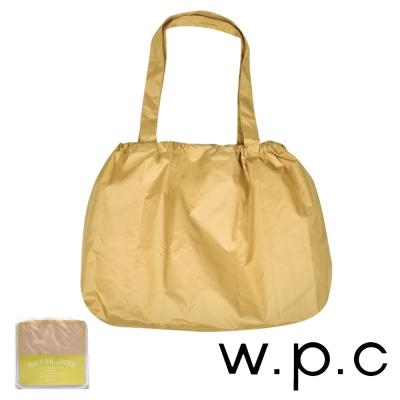 w.p.c 時尚包包的雨衣 束口防雨袋 (卡其素面)