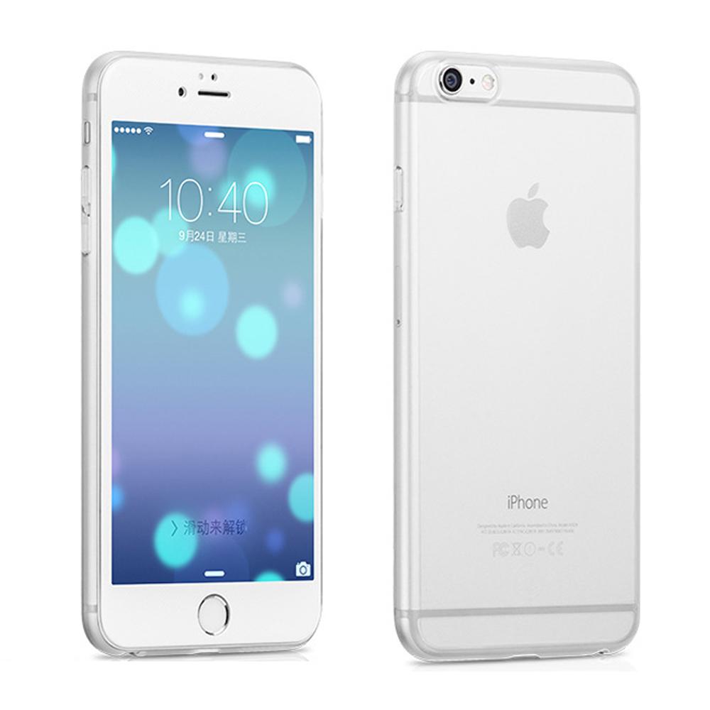 g-IDEA iPhone6S Plus 5.5吋極薄超輕量透明水晶手機殼