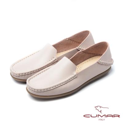 CUMAR慵懶主義-簡約素面兩穿式休閒鞋-粉紅