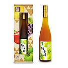 醋桶子 單入果醋禮盒組-梅子醋(600ml/瓶)