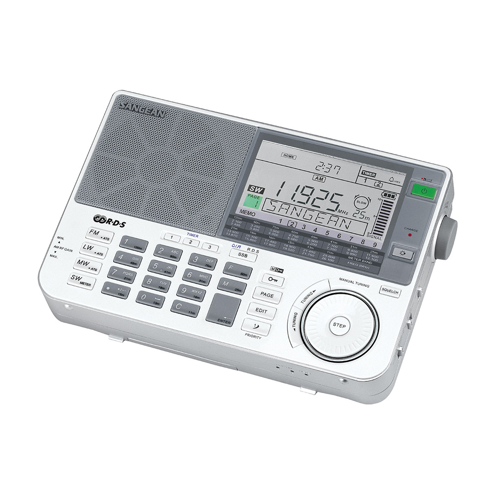SANGEAN 全波段專業化數位型收音機(ATS-909X)
