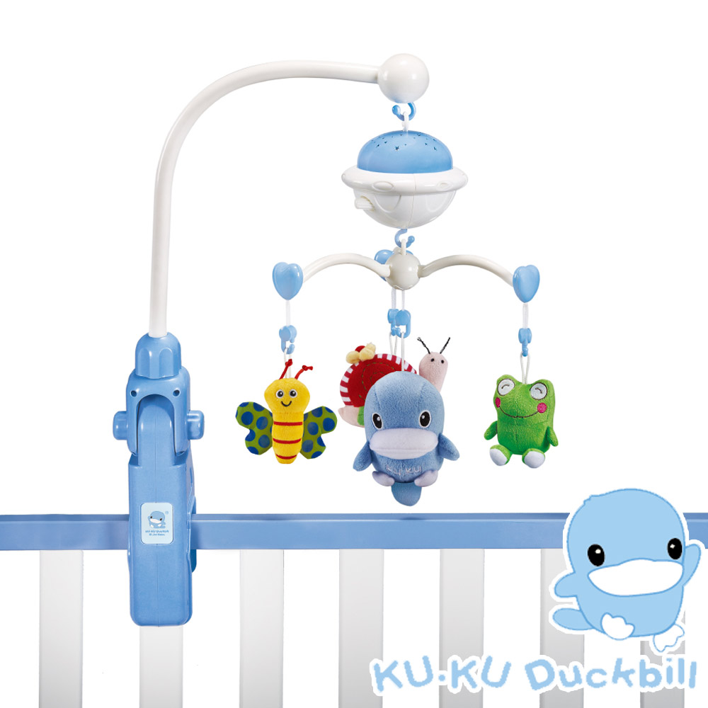 《KU.KU酷咕鴨》旋轉聲光音樂鈴  (KU7041)