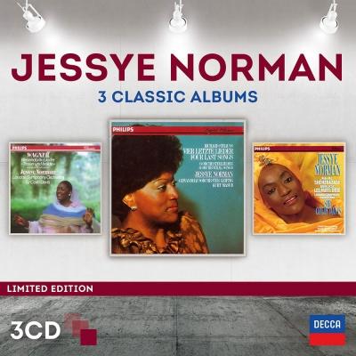 潔西諾曼/三大經典錄音(3CD)