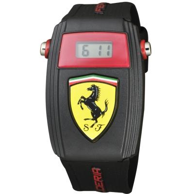 Scuderia Ferrari 法拉利 賽車電子腕錶-35mm