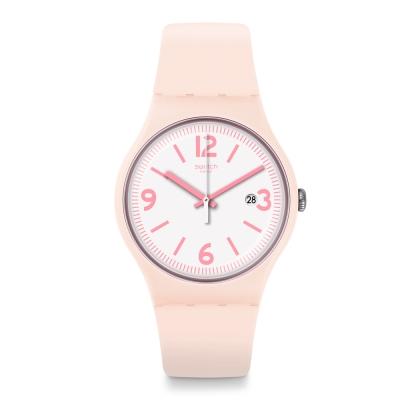 Swatch 田園風情系列 ENGLISH ROSE 英倫玫瑰手錶-37mm