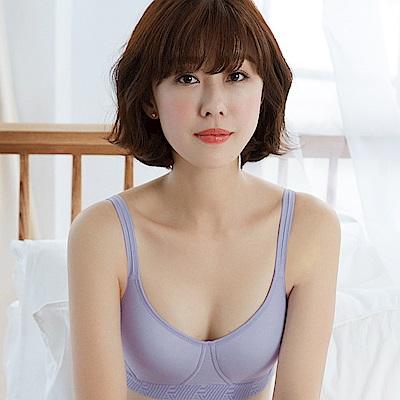推Audrey-慢調享受 無鋼圈C-E全罩內衣(浪漫紫)