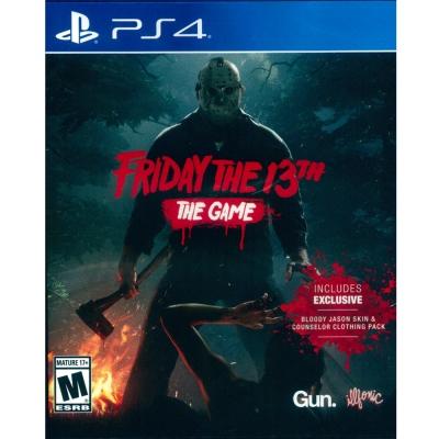13號星期五 Friday The 13th: The Game -PS4 英文美版