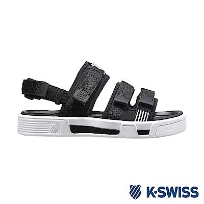 K-Swiss Trini Strap Sandal 休閒涼鞋-女-黑/白