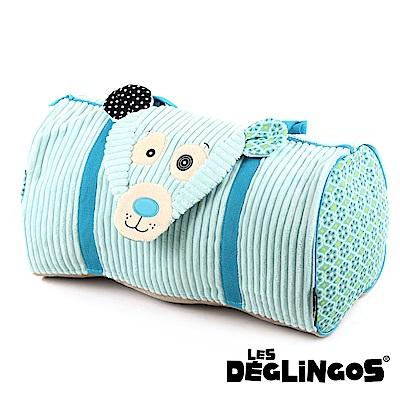 Les Deglingos 立體玩偶旅行側背包(周末休閒包)-北極熊 (ILLICOS)